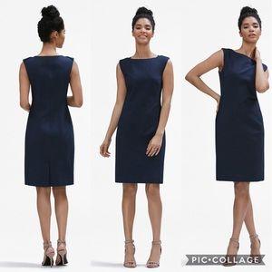 MM Lafleur Dema Dress in Navy Blue